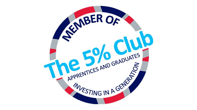 Member of The 5% Club